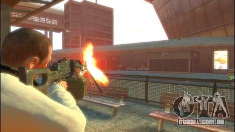 PKP Pecheneg metralhadora para GTA 4 segundo screenshot