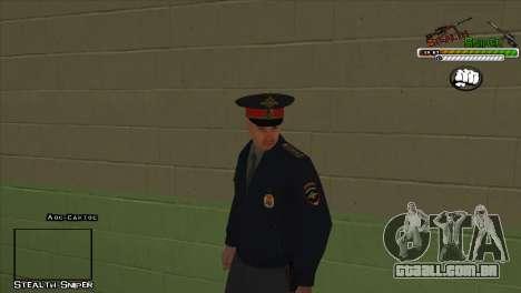 Polícia de San Angeles Pak peles para GTA San Andreas nono tela