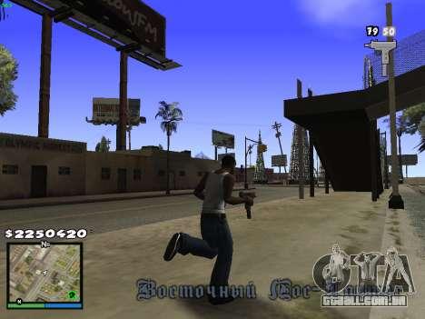 MFGTAFH V.1.1 para GTA San Andreas segunda tela