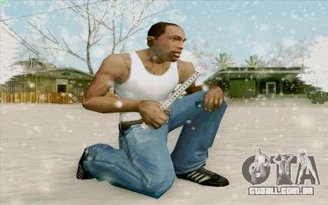 Régua de aço para GTA San Andreas terceira tela