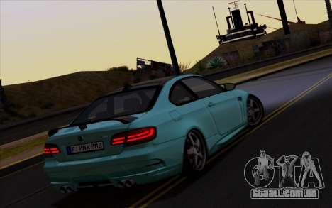 BMW M3 Hamann para GTA San Andreas vista direita