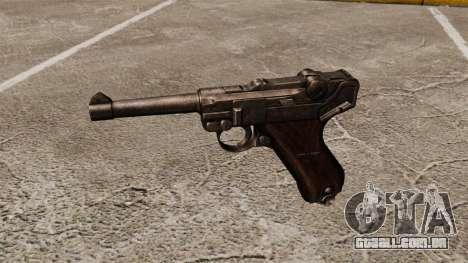 Pistola Parabellum v1 para GTA 4 terceira tela
