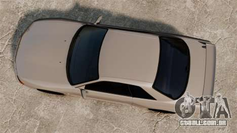 Nissan Skyline GT-R (R32) para GTA 4 vista direita