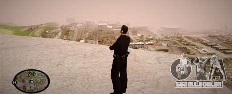 Los Angeles Police Officer para GTA San Andreas sexta tela