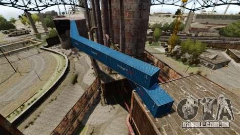 Uma base defensiva para GTA 4 quinto tela