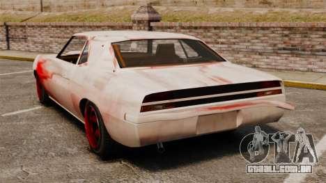 Nova coloração para Vigero enferrujado para GTA 4 traseira esquerda vista