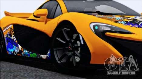 McLaren P1 2014 para as rodas de GTA San Andreas