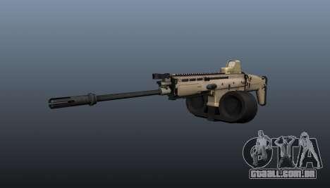 FN SCAR-H metralhadora LMG para GTA 4
