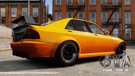 Sedan Sultan RS para GTA 4 esquerda vista