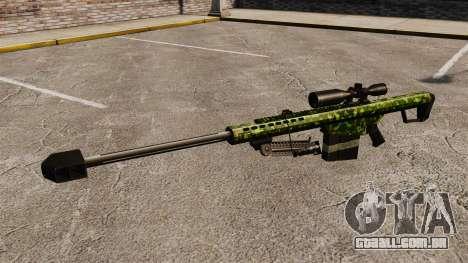 O Barrett M82 sniper rifle v4 para GTA 4 terceira tela