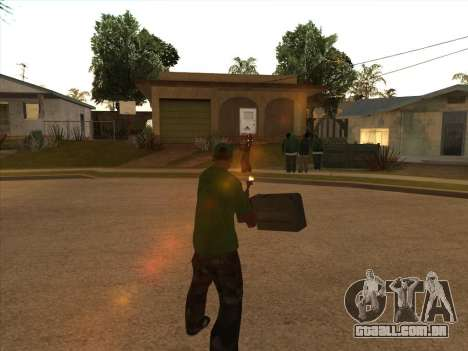 KORD para GTA San Andreas terceira tela