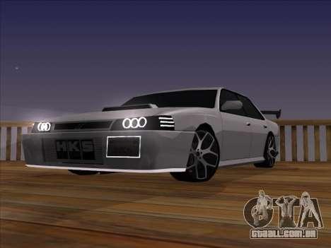 New Sultan para GTA San Andreas vista direita