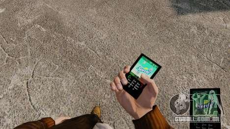 Temas para celular marcas de bebidas para GTA 4 quinto tela
