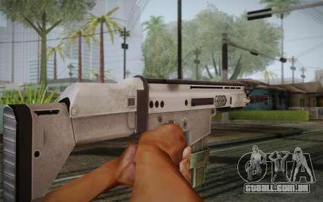 FN Scar para GTA San Andreas terceira tela
