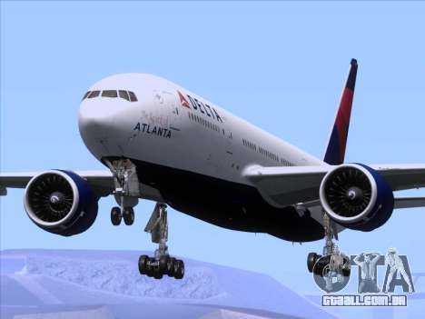 Boeing 777-200ER Delta Air Lines para GTA San Andreas