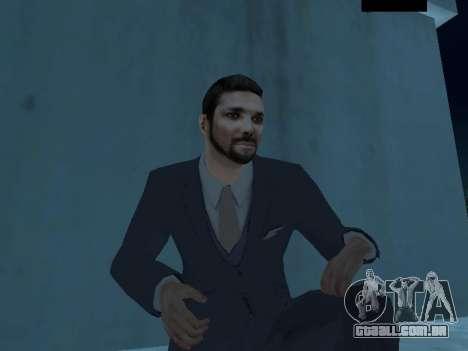 MafiaBoss HD para GTA San Andreas terceira tela