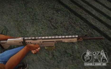 FN Scar para GTA San Andreas segunda tela