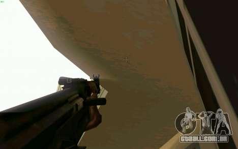 AK-47 para GTA San Andreas sétima tela