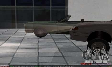 VAZ 2113 para vista lateral GTA San Andreas