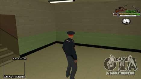 Polícia de San Angeles Pak peles para GTA San Andreas décimo tela