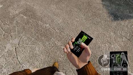 Temas para celular marcas de bebidas para GTA 4 segundo screenshot