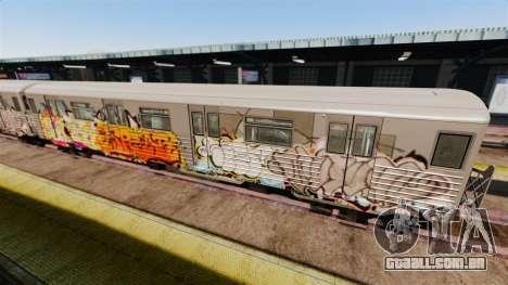 Novo graffiti metrô para v4 para GTA 4 segundo screenshot