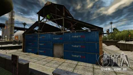 Uma base defensiva para GTA 4 terceira tela