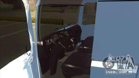 Volkswagen Constellation 19.320 Titan para GTA San Andreas vista traseira