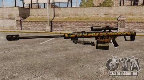 O Barrett M82 sniper rifle v13 para GTA 4 terceira tela