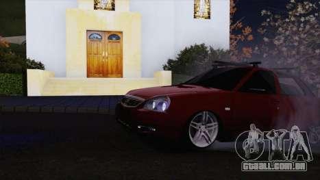 VAZ Lada Priora 2170 para GTA San Andreas esquerda vista