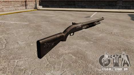 Shotgun da bomba-ação Mossberg 590 para GTA 4 segundo screenshot