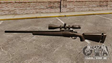 O M24 sniper rifle para GTA 4 terceira tela