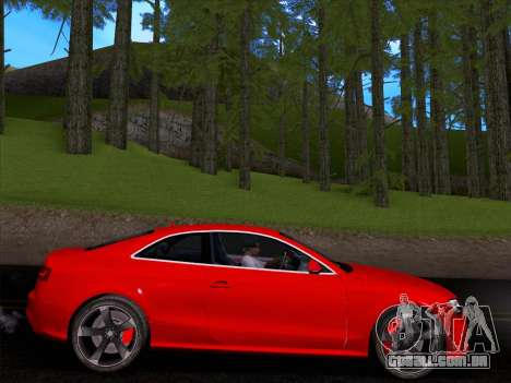 Audi RS5 2012 para GTA San Andreas vista direita