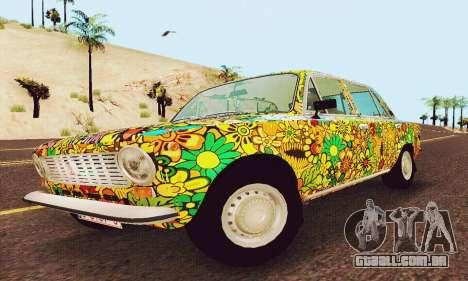 VAZ 21011 Hippie para GTA San Andreas esquerda vista