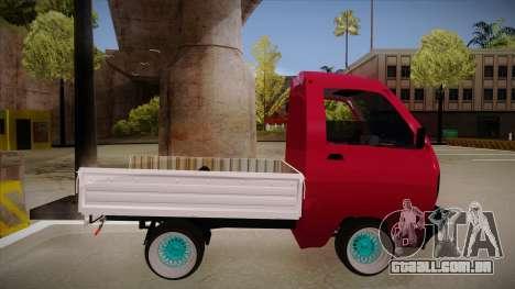 Suzuki Carry Drift Style para GTA San Andreas traseira esquerda vista