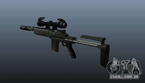 Automatic rifle M14 EBR v1 para GTA 4 segundo screenshot