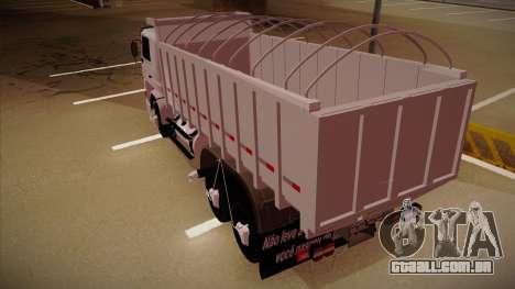 Scania 113H Frontal estaca BETA para GTA San Andreas traseira esquerda vista