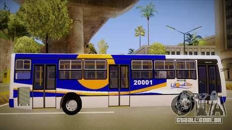 Caio Millenium para GTA San Andreas traseira esquerda vista