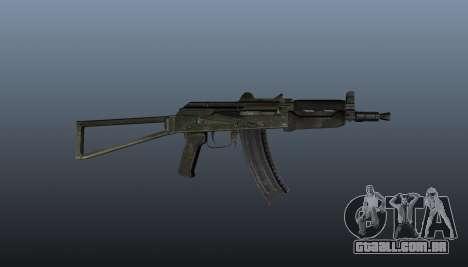 Automático AKS74U v1 para GTA 4 terceira tela