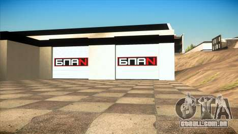 A garagem em Doherty BPAN v 1.1 para GTA San Andreas segunda tela