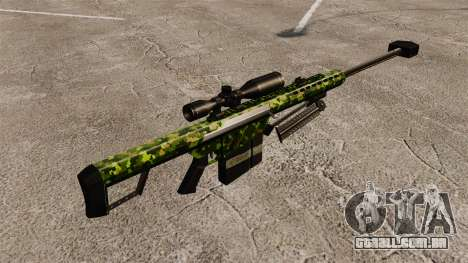 O Barrett M82 sniper rifle v4 para GTA 4 segundo screenshot