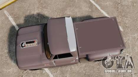 Chevrolet C-10 Stepside v3 para GTA 4 vista direita
