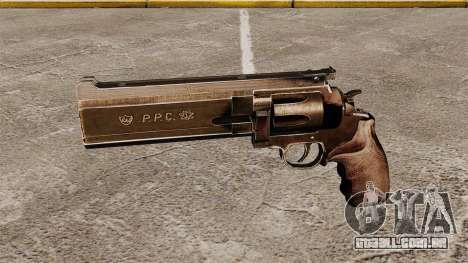 Revólver Dan Wesson 357 PPC para GTA 4 terceira tela