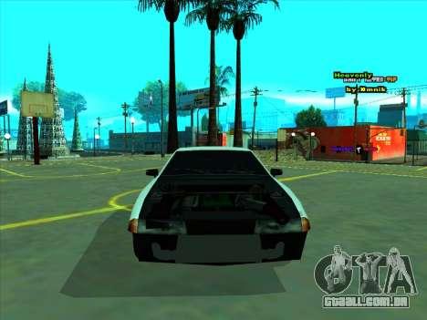 Drift Elegy by zhenya2003 para GTA San Andreas vista traseira