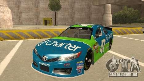 Toyota Camry NASCAR No. 47 Charter para GTA San Andreas