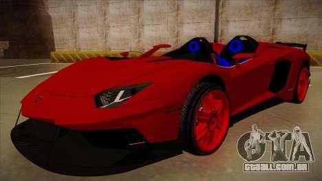 Lamborghini Aventador J V1 para GTA San Andreas