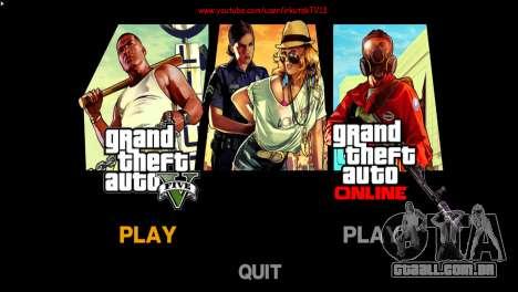 Imagens de menu e bota no estilo de GTA V para GTA 4 terceira tela
