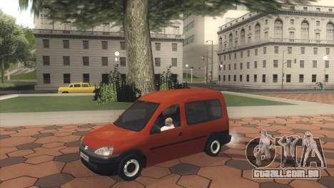 Opel Combo para GTA San Andreas