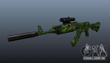 AK-74 em camuflagem para GTA 4