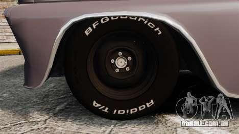 Chevrolet C-10 Stepside v3 para GTA 4 vista de volta